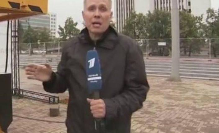 Избили репортёра в Екатеринбурге.